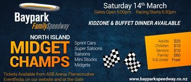 Baypark Family Speedway North Island Midget Champs