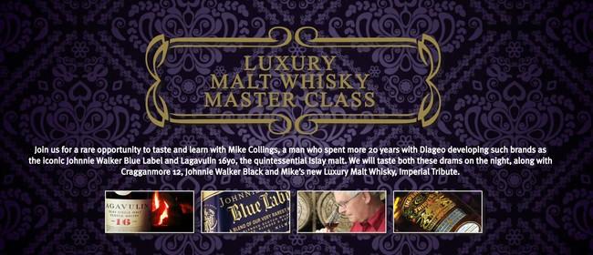 Luxury Malt Whisky Master Class