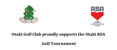 Otaki RSA Golf Tournament