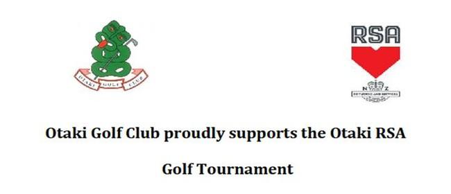 Otaki RSA Golf Tournament