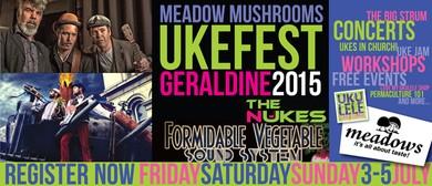 Geraldine Ukefest Sunday Event - Ukes in Church