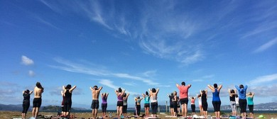 Club Active Outdoor Yoga - Parks Week