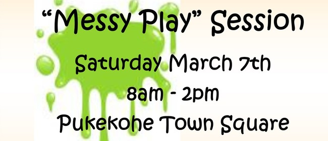 Counties Playcentre Association Messy Play Session