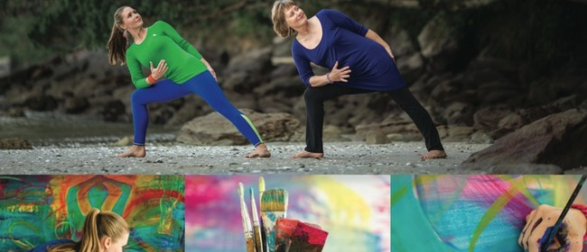 Intuitive Painting and Yoga Retreat