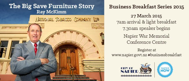 Business Speaker Series - The Big Save Furniture Story