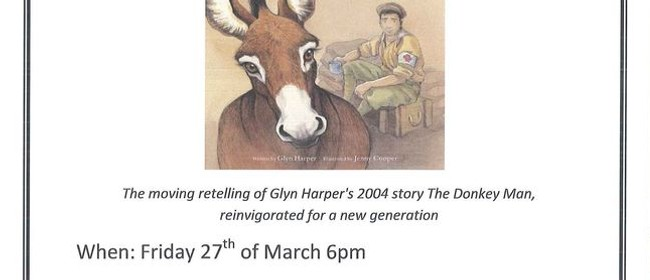 """Book Launch for Glyn Harper's """"Roly the Anzac Donkey"""""""