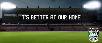 Vodafone Warriors Vs North Queensland Cowboys