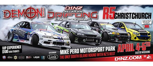 Demon Energy D1NZ Drifting Championship: Christchurch