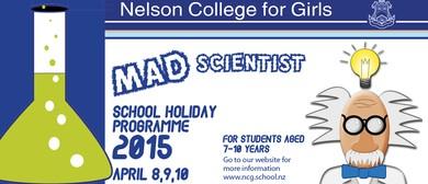NCG Mad Scientist School Holiday Programme