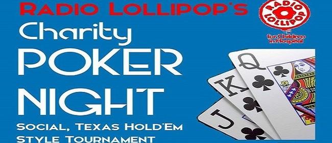 Poker Night Fundraiser for Radio Lollipop