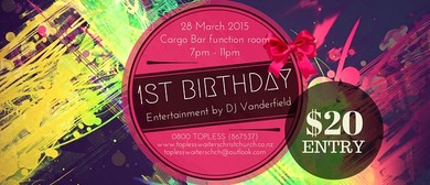 Topless Waiters Christchurch 1st Birthday Celebrations