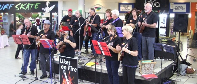 Ukes on Fire