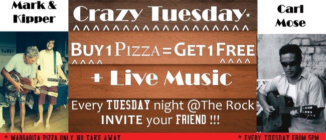 Special Crazy Tuesday Edition - Music & Pizza