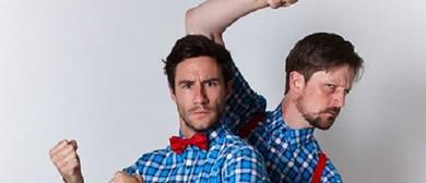 Street Performance - Matt & Andy Food Waste Comedy