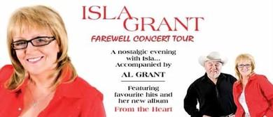 Isla Grant - Farewell Concert Tour