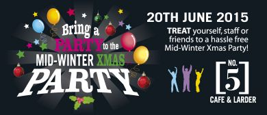 Bring Your Party to The Mid Winter Christmas Party