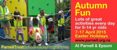Cartoon Zone - Parnell Trust Holiday Programme