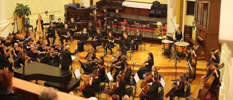 NZSM Orchestra Plays Lilburn, Copland, and Beethoven