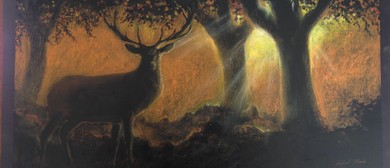 Stag in Oil Pastel 1-day Drawing Workshop