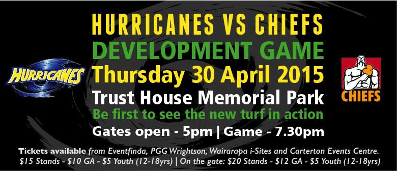 Hurricanes v Chiefs Development Game