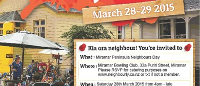 Miramar Peninsula Neighbours Day Gathering