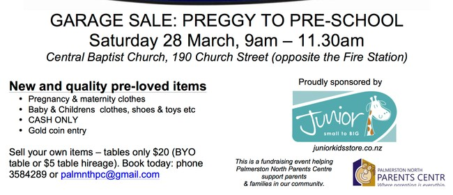 Preggy to Preschool Garage Sale