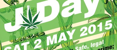 J Day Cannabis Law Reform Rally