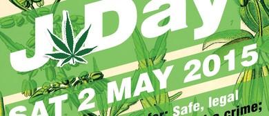 J Day Cannabis Law Reform Rally