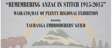 Remembering Anzac in Stitch 1915-2015