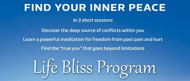 Find Your Inner Peace: Workshop by an Enlightened Master