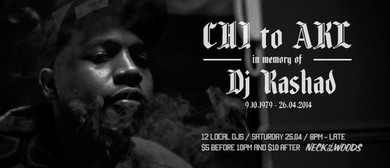 CHI to AKL: In Memory of DJ Rashad