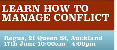 Conflict Management 1-day Workshop