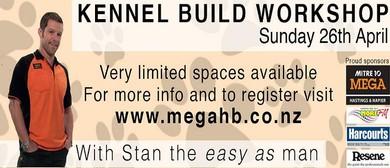 SPCA Hastings & Mitre 10 MEGA Hastings Kennel Build Workshop