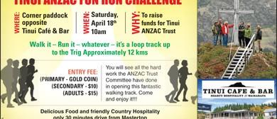 Tinui ANZAC Fun Run Challenge