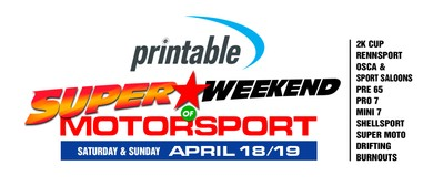 Printable - Super Weekend of Motorsport