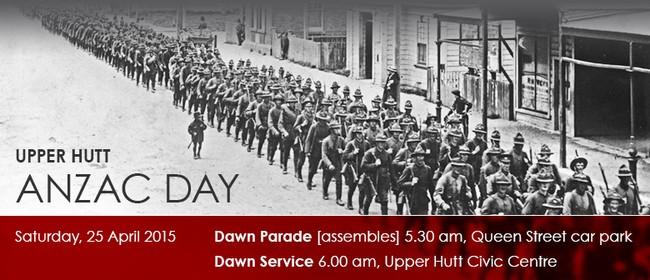 Upper Hutt Anzac Day Parade and Dawn Service