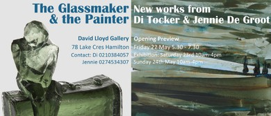 The Glassmaker & the Painter - Di Tocker & Jennie De Groot