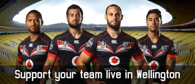 Vodafone Warriors vs St George Illawarra Dragons