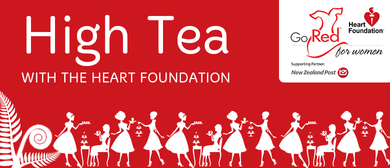 Go Red for Women High Tea with Ray McVinnie