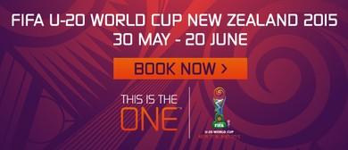 FIFA U-20 World Cup New Zealand 2015- Match 43