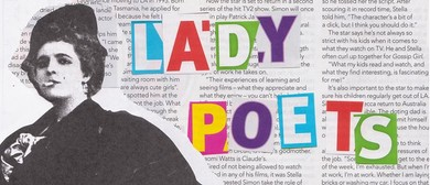 Lady Poets: The Sharp Edges of Paper Dolls