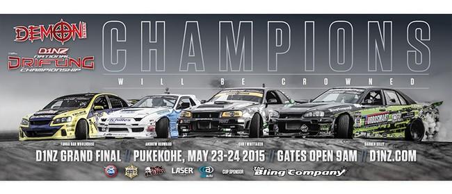 Demon Energy D1NZ Drifting Championship: Grand Final