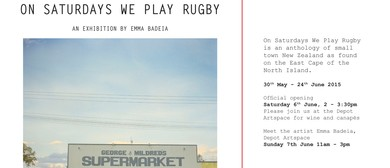 Emma Badeia: On Saturdays We Play Rugby