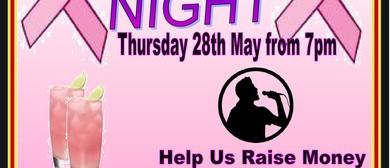 Pink Ribbon Karaoke Night