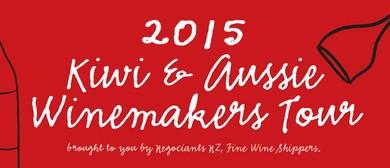 Kiwi & Aussie Winemakers Tour
