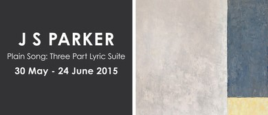 JS Parker: Plain Song: Three Part Lyric Suite (2015)