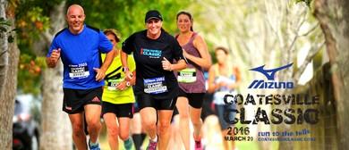 Mizuno Coatesville Classic Half Marathon, Fun Run & Walk