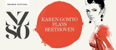 NZSO presents: Karen Gomyo plays Beethoven -Inkinen Festival