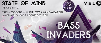 Bass Invaders ft State of Mind, Trei & More