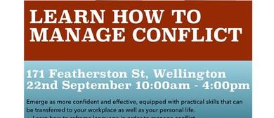 Conflict Management 1-day Workshop